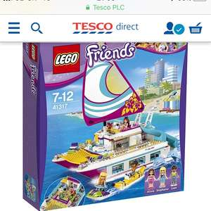 Lego Friends Catamaran - Free Click & Collect instore £48 @ Tesco