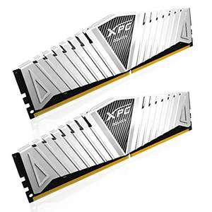 ADATA XPG Z1 32 GB (16 GB x 2) DDR4 3000 MHz CL16 Memory Modules - White, £170.80 amazon  prime exclusive