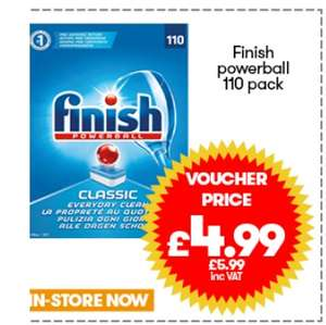 Jtf deals - Fairy 780ml 59p, 12 Andrex Toilet rolls £3.59, Finish Powerball 110 £5.99, Pepsi 2L 59p (incl VAT)