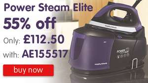 Morphy Richards - Steam Generator Iron £112.50 with code - Morphy Richards