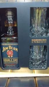 Jim Beam Double Oak 70cl Gift Pack @ Costco for £19.78