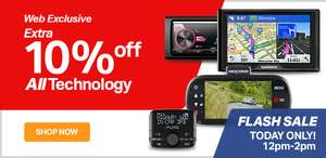 Halfords FLASH SALE - TODAY 12-2pm