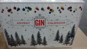 Gin Advent Calendar (24 x 5cl) instore at Costco for £59.98
