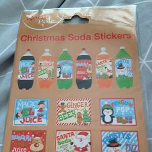 Christmas juice labels 29p instore @ Home Bargains