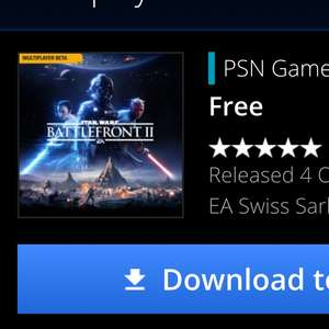 Battlefront 2 demo available now @ PSN