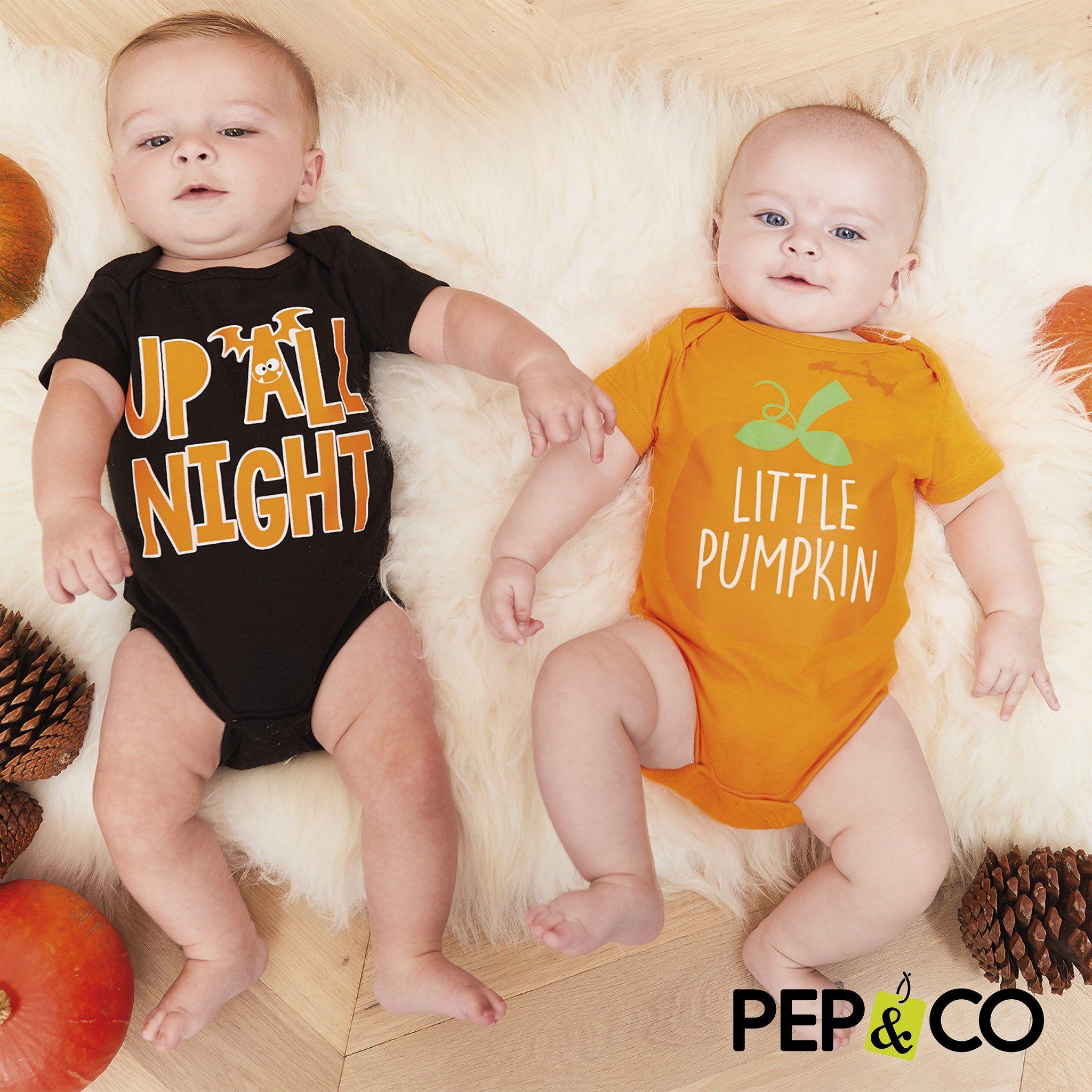 Halloween baby bodysuits - £1.50 instore @ PEP&CO