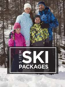 Men & Womens Ski Clothes Packages £89.99 (Childrens slightly cheaper) @ Mountain Warehouse