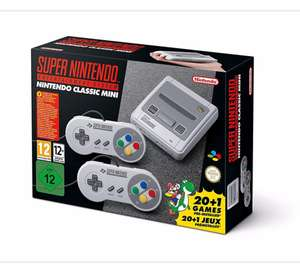Super Nintendo Entertainment System Mini £79 in stock Asda George QUICK