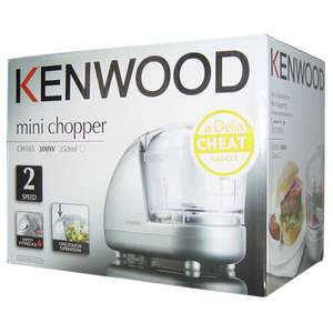 Kenwood CH185 Mini Chopper half price in-store £12 at Tesco