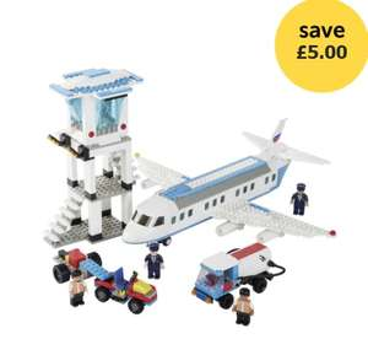Blox Airport Bumper Set £15 / Blox Construction Mega Set £20 @ Wilko (Free C&C/ Compatible with Leading brand)