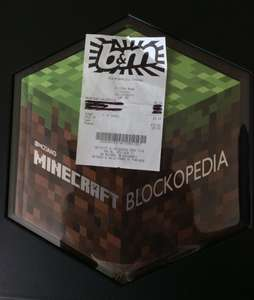 Mojang Minecraft Blockopedia £4.99  B&M - Lincoln