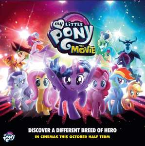 Free O2 Priority Preview Tickets for My Little Pony: The Movie - See post for details