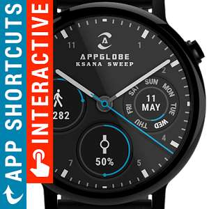 Ksana Android Watchface STILL FREE (was 99p) Limited Time @ PlayStore