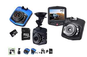 Full HD 1080p Car DVR Dash cam / Accident Camera with Night Vision £14.99 (+£1.99 postage) or £24.98 with 32 GB optional SD card @ Groupon