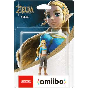 Zelda BOTW Amiibo back in stock at Nintendo - £12.99 (add £1.99 delivery if under £20)