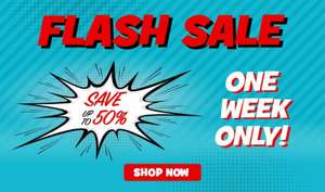 Toys R US Flash Sale! up to 50% off