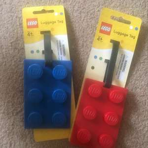 Cheap lego luggage tags scanning at 50p @ Poundland - Slough