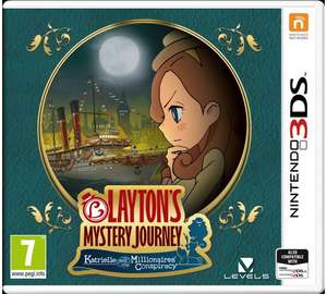 LAYTON'S MYSTERY JOURNEY: Katrielle and the Millionaires' Conspiracy 3ds £28 @ Tesco