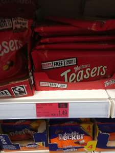 Teasers £1.49 5 points Sweet Sunday. Cinema and chocolate for £2.98 B&M Runcorn