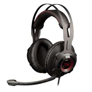 HyperX Cloud Revolver Pro Gaming Stereo Headset for PCs/Xbox One/PS4/Wii U/Mac  (Black) £50 @ Amazon