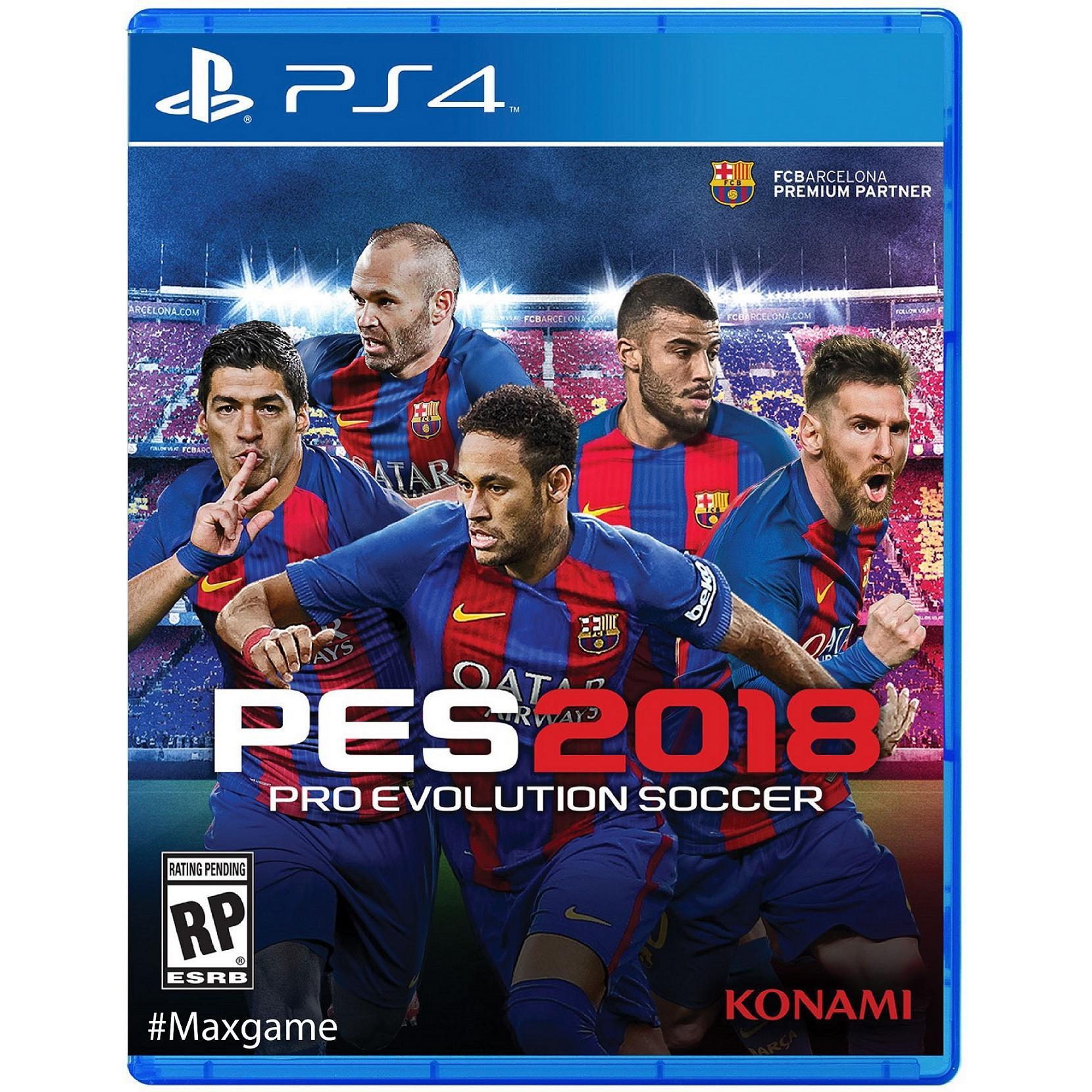 Pro Evolution Soccer 2018 (PES) PS4 £29.99 2nd hand Grainger Games