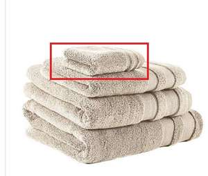 Champagne So Soft Zero Twist Towel for £1 @Dunelm (On on in-store collection)