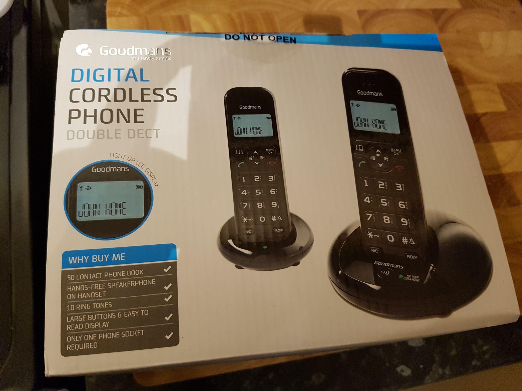 Goodman's phones 2 pack - £5 instore @ B&M