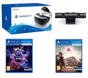 SONY VR with Camera V2, VR Worlds & Farpoint Bundle  £349.99 @ Currys
