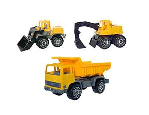 Plasto Large 1634/1660/1688 Model Vehicle Set £10.38 (Prime) @ Amazon