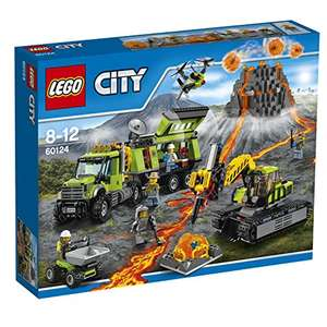 LEGO 60124 Volcano Exploration Base at Amazon for £44.79 (£34.79 with NUS voucher)