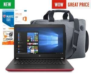 HP 14 Laptop Bundle - Bag and 1 Year Office - £349.99 @ Argos