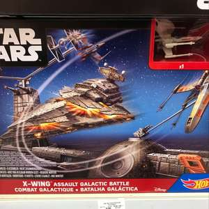 X-wing assault Hot Wheels instore at Toys R Us for £4.98 (found in Nottingham)