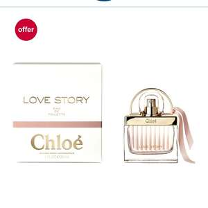 Chloe 30ml love story at Boots for £28