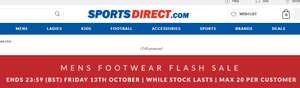 Upto 80% off men footwear @ Sports Direct (Flash sale until 13/10)