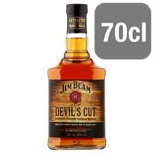 Jim Beam Devil's Cut Bourbon Whiskey 70cl - £18 @ Tesco