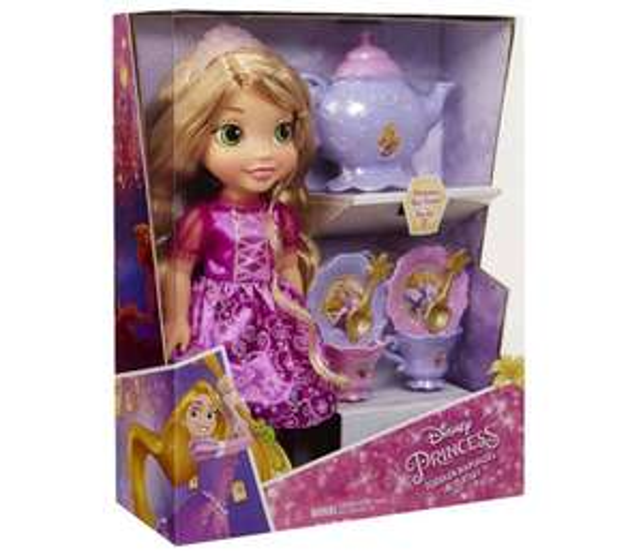 My First Disney Princess Toddler Rapunzel With Tea Set (was £35)  now £17.50 @ Tesco Direct