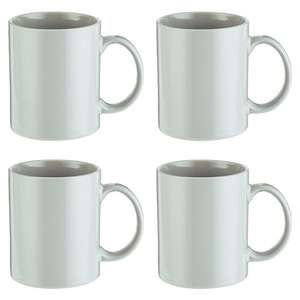 4x Grey Plain Stoneware Mugs 80p @ Tesco Groceries Online/ Instore