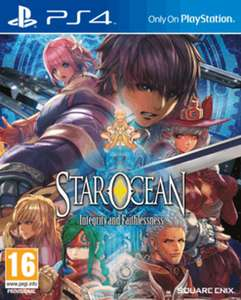 Star Ocean: Integrity and Faithlessness (PS4) £8.99 at GAME