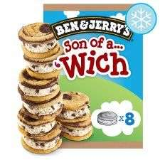 Ben & jerrys 8 pack son of a wich - £1.99 @ Farmfoods