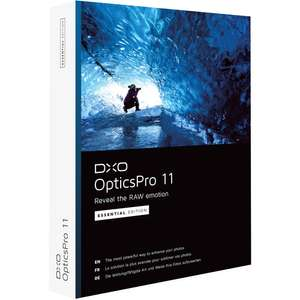 DxO OpticsPro 11 Essential Edition - FREE