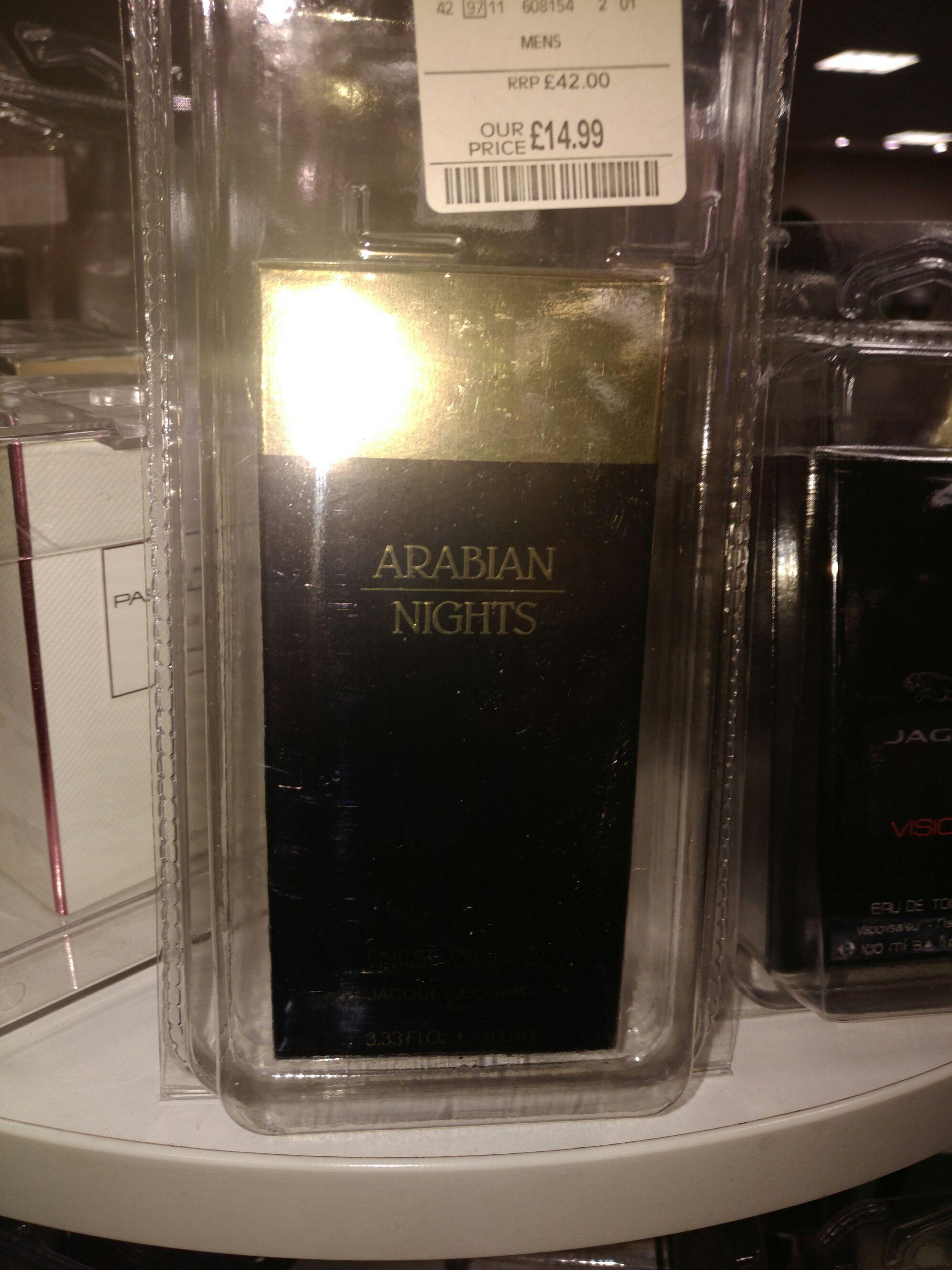 Arabian Nights Men's  EDT tkmaxx instore £14.99 100ml