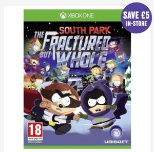 South park the fractured but whole - Xbox One & PS4 - £36.99 pre order (C&C) @ Smyths