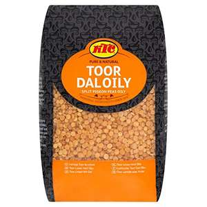KTC Toor Dal Oily, 2 Kg - £1 - Normally £5+ in supermarkets @ Amazon Fresh + Free Del over £40