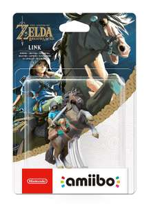 Link Rider Amiibo - Legend Of Zelda Breath of the Wild £12.99 (Prime) @ Amazon