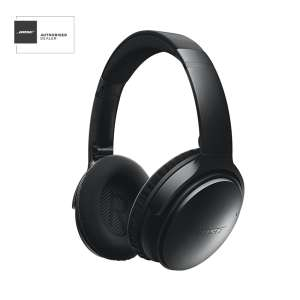 BOSE® QUIETCOMFORT 35 wireless noise cancelling Bluetooth headphones £259 @ PRC Direct (or Bose outlet will PRICE MATCH them) or £251.23 with Quidco or Topcashback.