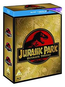 Jurassic Park Trilogy [Blu-ray + UV Digital Download] [2015] [Region Free] £6.50