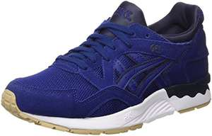 Asics Unisex Adults' Gel-Lyte V Low-Top Sneakers Blue Print (Size 4) £25.75 @ Amazon