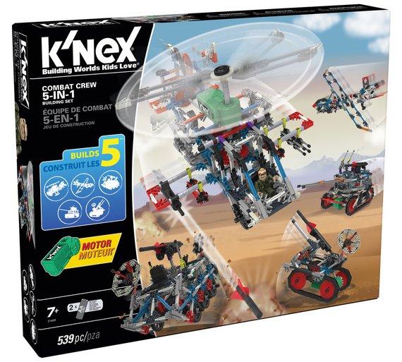 K'NEX Combat Crew 5-in-1 Building Set - £17.49 @ Argos