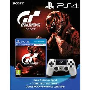 PS4 Gran Turismo Sport and Limited Edition GT Dualshock 4 Twin Pack £69.99 VERY (pre-order) + free C+C