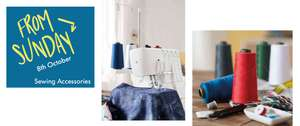 LIDL Singer Sewing Machine (£129) and Overlocker (£139)